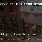 big antique oak dining room chairs