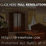 claassic with oak bedroom furniture set