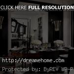 classic elegant black dining chairs