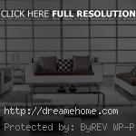 contemporary unique living room furniture set