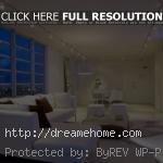 cool white living room decoration with hidden living room lighting
