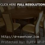 large round dining room tables