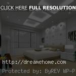 make your luxury bedroom with give the white domination color