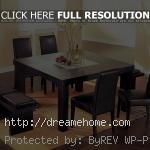 modern but pretty classic modern dining table