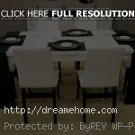 modern dining table for 6 chairs
