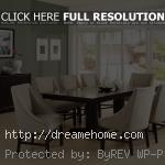 modern elegant leather dining chairs