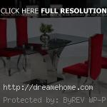 modern top glasses high dining table