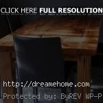 simple big wood dining table low budget