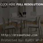 simple modern high dining table